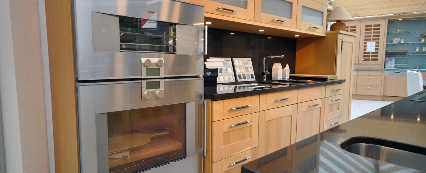 gebrauchte kuchen leer. Black Bedroom Furniture Sets. Home Design Ideas